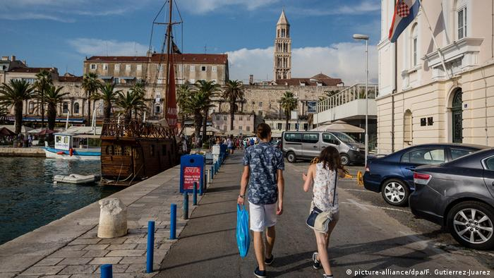 Kroatien Coronavirus | Tourismus in Split (picture-alliance/dpa/F. Gutierrez-Juarez)
