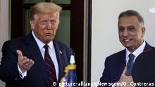USA | Mustafa al-Kadhimi irakischer Premierminster zu Besuch in Washington (picture-alliance/Newscom/O. Contreras)