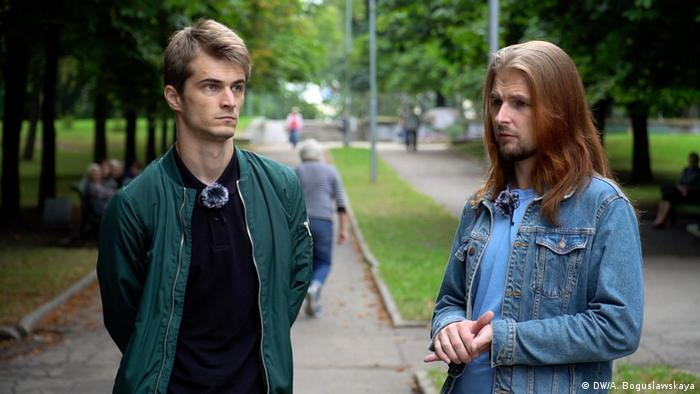 Vladislav Sokolovski și partenerul său Kiril Galanov
