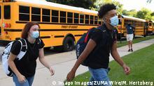 USA Coronavirus Schulöffnung