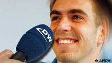 Symbolbild DW Interviews mit Bundesligaspieler