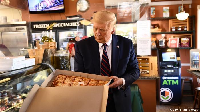 USA | Pennsylvania | Trump Wahlkampfauftritt in Old Forge (AFP/B. Smialowski)