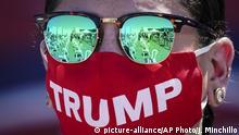 USA   Pennsylvania   Trump Wahlkampfauftritt in Old Forge