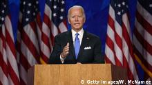 USA | Präsidentschaftskandidat Joe Biden in Wilmington, Delaware