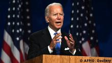 USA Präsidentschaftskandidat Joe Biden in Wilmington, Delaware