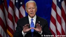 USA Präsidentschaftskandidat Joe Biden in Wilmington, Delaware