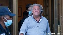 New York Steve Bannon verlässt Bundesgericht in Manhattan