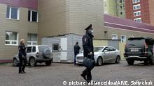 Russland Omsk Nawalny im Krankenhaus