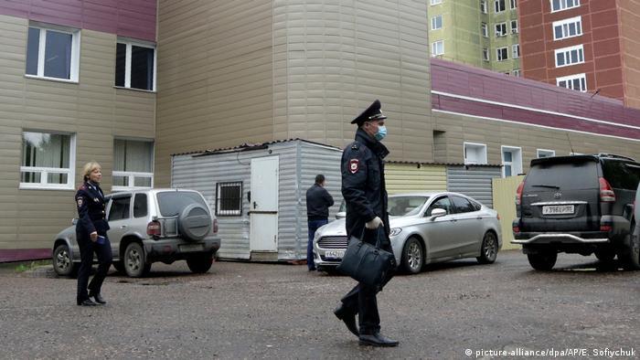 Больница скорой помощи в Омске, куда был госпитализирован Алексей Навальный