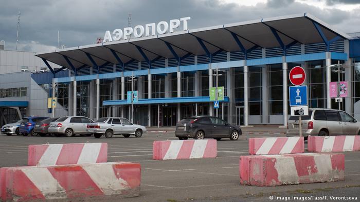 Russland Tomsk Flughafen (Imago Images/Tass/T. Vorontsova)