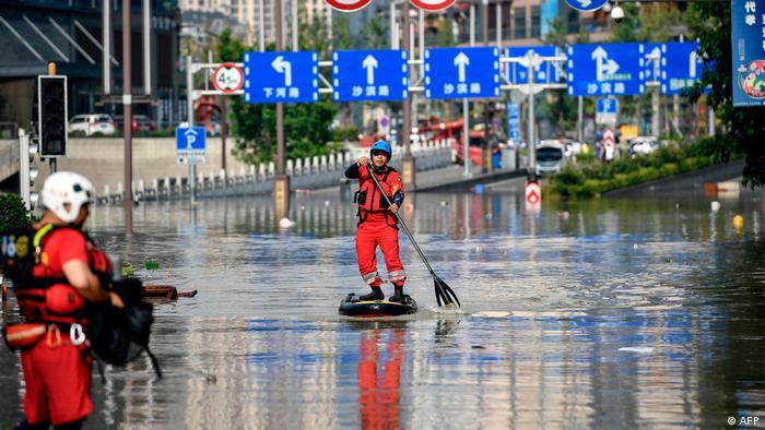China Überschwemmungen am Jangtse