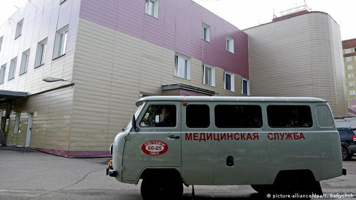 Navalni Omsk'taki bir hastaneden tedavi görüyor