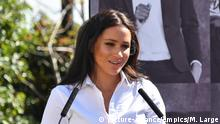 US presidential election. File photo dated 12/9/2019 of the Duchess of Sussex who is to take part in a virtual couch party to encourage voting ahead of the US presidential election. Issue date: Wednesday August 19, 2020. Meghan will join the online When All Women Vote event as a special guest on Thursday. See PA story ROYAL Sussex. Photo credit should read: Mark Large/Daily Mail/PA Wire URN:55065384 |