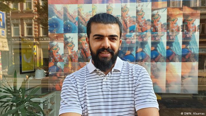 ریسان حمید، پناهجوی عراقی در آلمان
