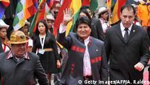 Bolivien Ex-Präsident Evo Morales