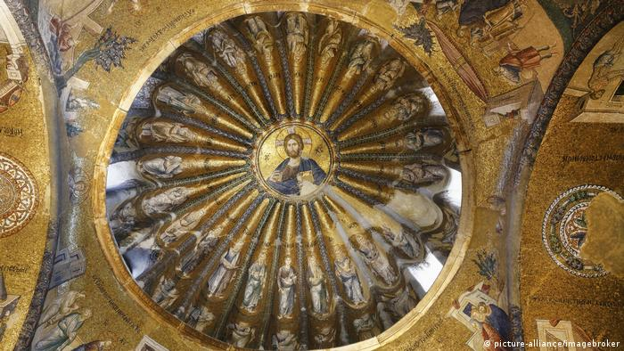 Türkei Istanbul Kirche Mosaik Christus als Pantokrator Chora-Kirche Kariye Camii (picture-alliance/imagebroker)