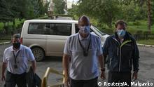 Russland Vergiftung Navalny Krankentransport nach Deutschland