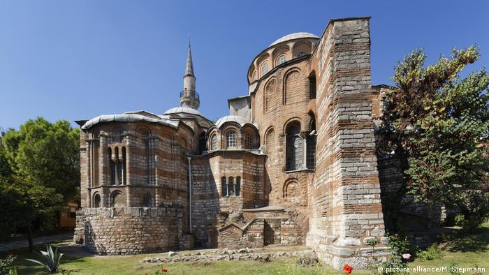 Outdoor view of the former Chora Museum (picture-alliance/M. Siepmann)