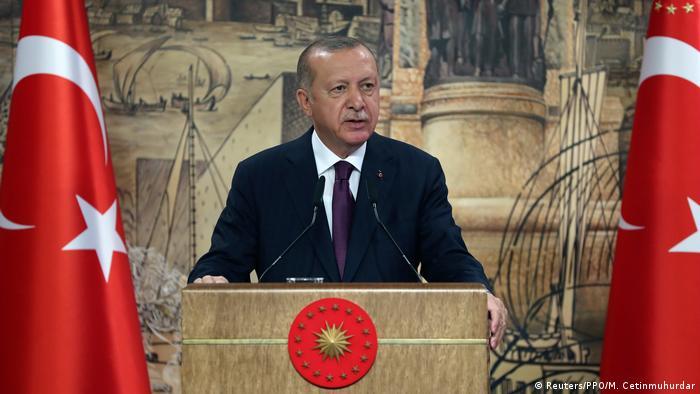 Türkei Präsident Erdogan (Reuters/PPO/M. Cetinmuhurdar)