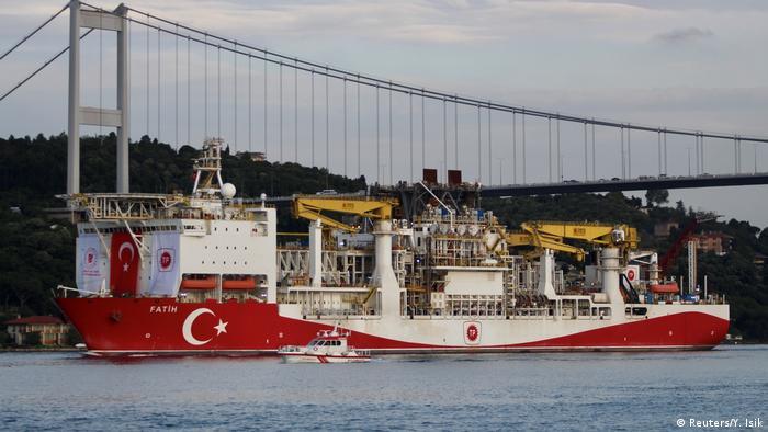 گفته میشود کشتی فتح در مدیترانه یک میدان گازی با ظرفیت ۲۳۰ میلیارد مترمکعب کشف کرده است