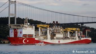 Το τουρκικό πλοίο Φατίχ στη Μαύρη Θάλασσα