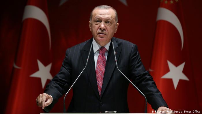 Der türkische Präsident RecepTayyip Erdogan (Foto: Reuters/Presidential Press Office)