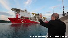 Türkei Erdgas Schwarzes Meer Bohrschiff Fatih