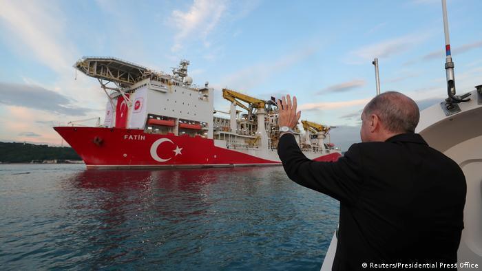 Türkei Erdgas Schwarzes Meer Bohrschiff Fatih (Reuters/Presidential Press Office)