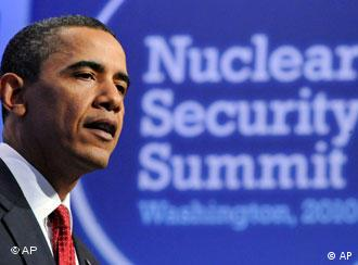 President Barack Obama speaks during a news conference at the conclusion of the Nuclear Security Summit in Washington