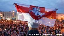 Minsk | Opposition Protest Gesang Musik Abend