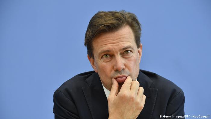 Deutschland Regierungssprecher Steffen Seibert (Getty Images/AFP/J. MacDougall)