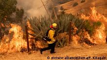 Kalifornien Waldbrände 2020 Löscharbeiten