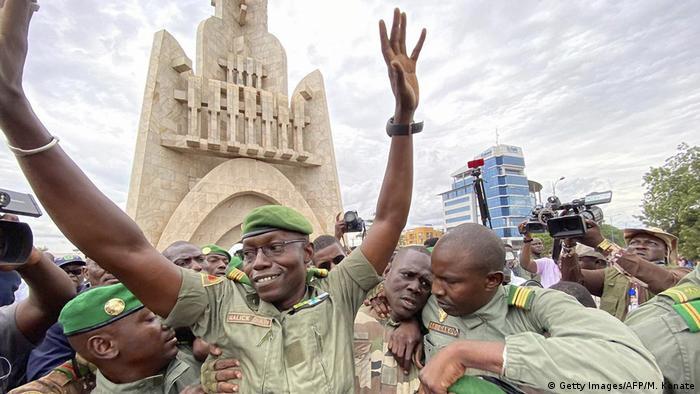 Mali I Protest in Bamako (Getty Images/AFP/M. Konate)