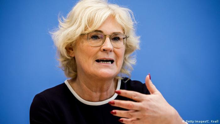کریستینه لامبرشت، وزیر دادگستری آلمان از حزب سوسیال دموکرات
