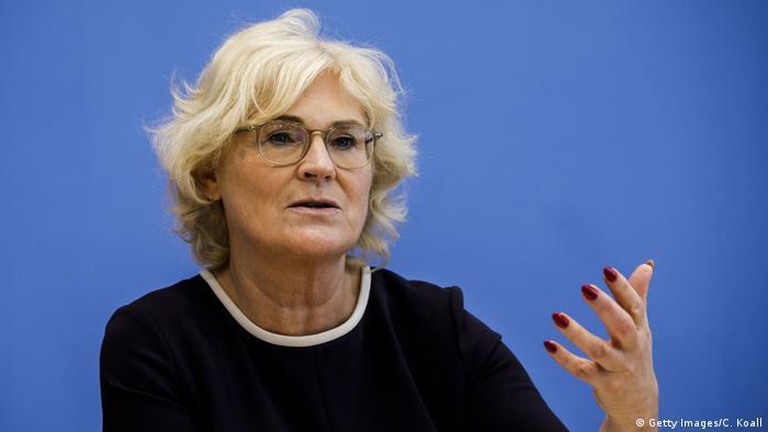 Savezna ministrica pravosuđa Christine Lambrecht