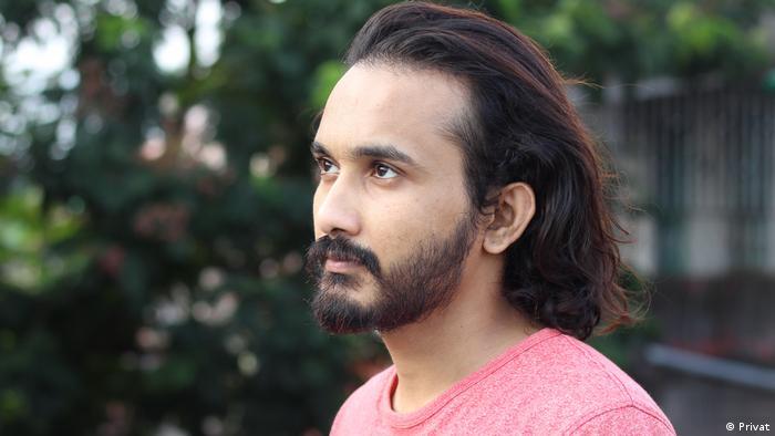 A close-up photograph of Bangladeshi blogger Asad Noor
