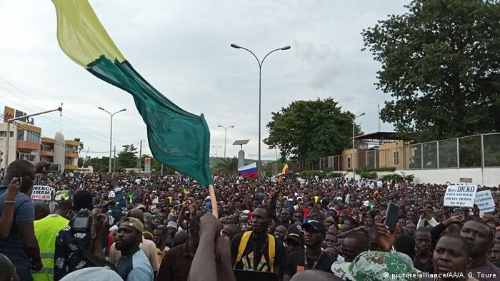 Mali Proteste in Bamako