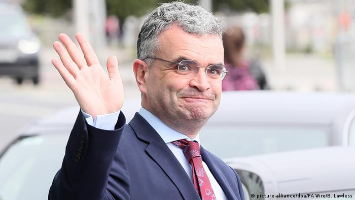 O ex-ministro da Agricultura da Irlanda Dara Calleary
