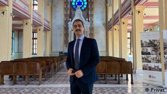 Глава Ассоциации поддержки фондов греческих общин Лаки Вингас
