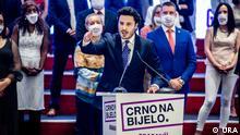 Themenbilder Wahl in Montenegro: Dritan Abazovic