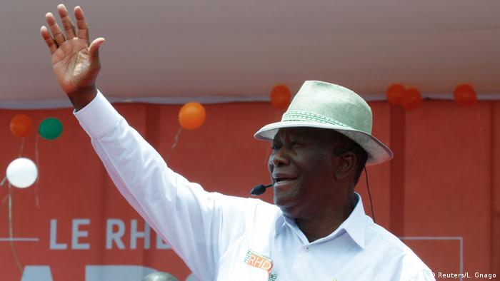 Alassane Ouattara President of Ivory Coast