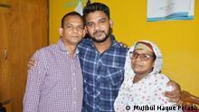 Bangladesch | Der bangladeschische Migrant Rayhan Kabir kehrt zu seiner Familie aus Malaysia zurück