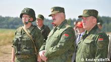 Weißrussland | Alexander Lukashenko besucht Militätübungsplatz nahe Grodno