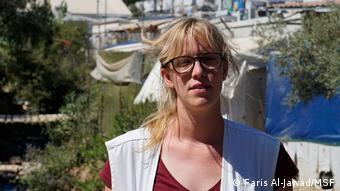 Karoline VilemenWillemen Moria Flüchtlingslager Ärzte ohne Grenzen