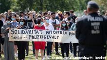 Demo gegen Polizeigewalt in Düsseldorf