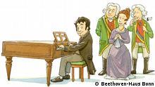 Deutschland Screenshot aus dem Online-Lernspiel Hallo Beethoven für Kinder