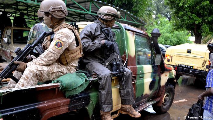 Mali Bamako Verhandlungen zwischen ECOWAS und Militärführern