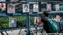 Mexiko Mexiko City 10. Jahrestag Massaker von San Fernando
