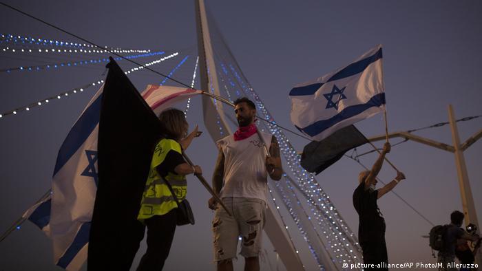 Учасники акцій протесту в Ізраїлі