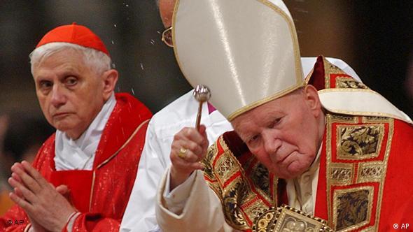 5 Jahre Papst Benedikt XVI Ratzinger Kardinal Papst Johannes Paul 2002 Flash-Galerie